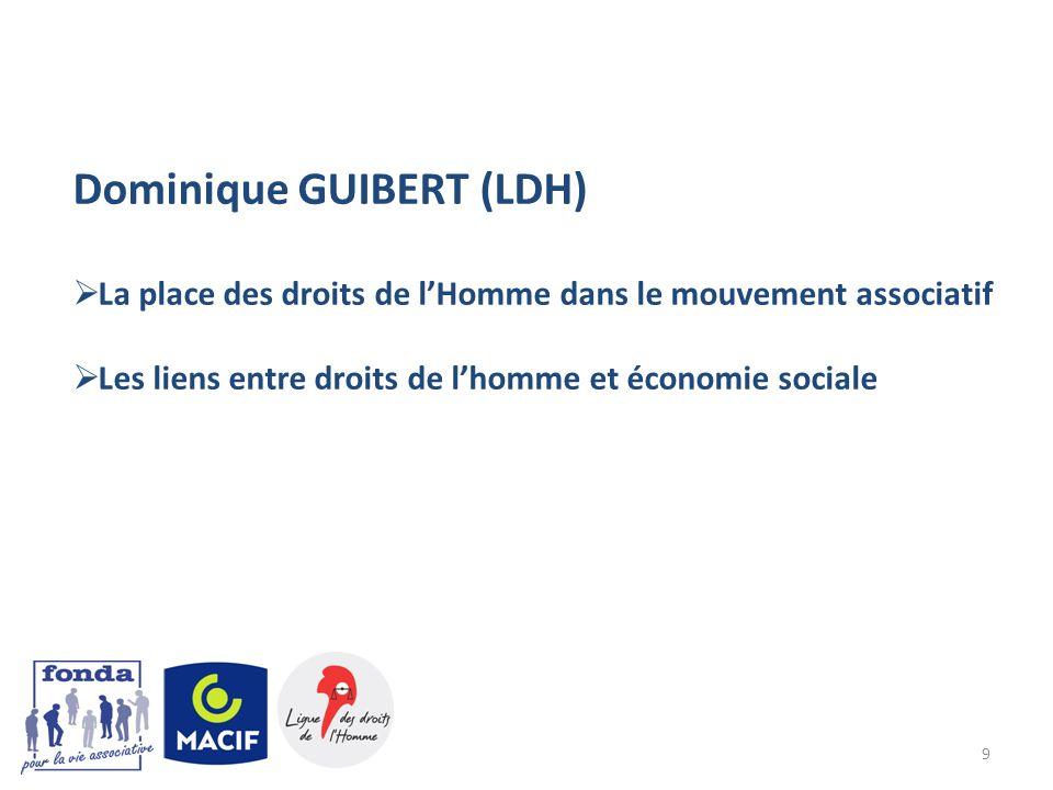 Dominique GUIBERT (LDH)