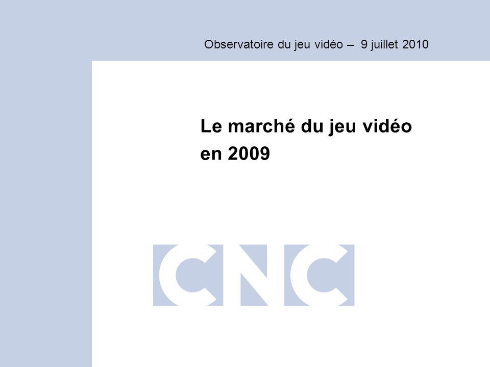 Le marché du jeu vidéo en 2009