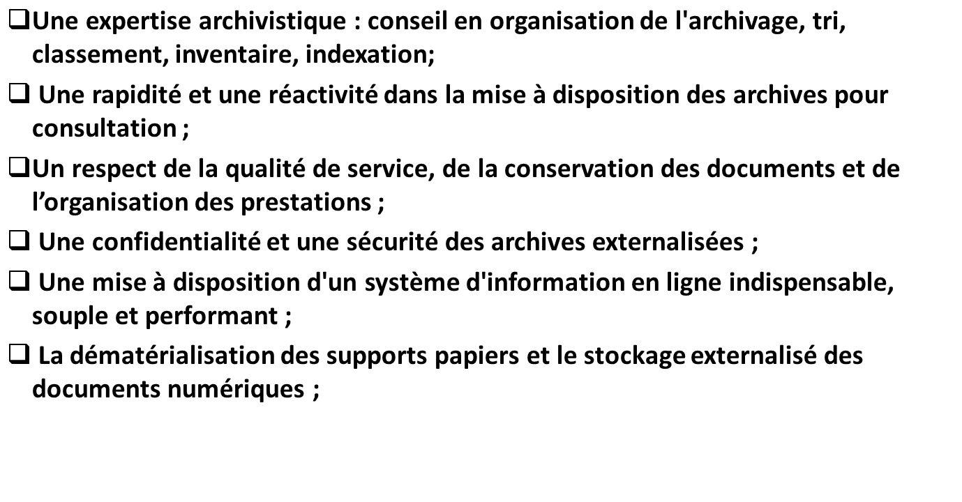 Sc narii de r organisation des archives d un organisme - Classement cabinet de conseil en systeme d information ...