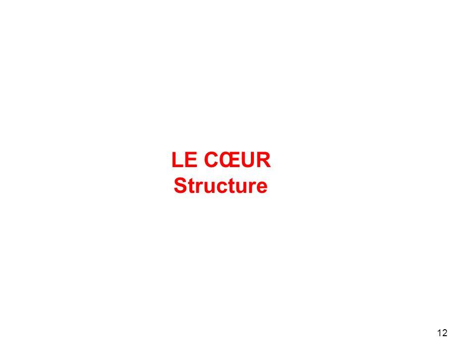 LE CŒUR Structure