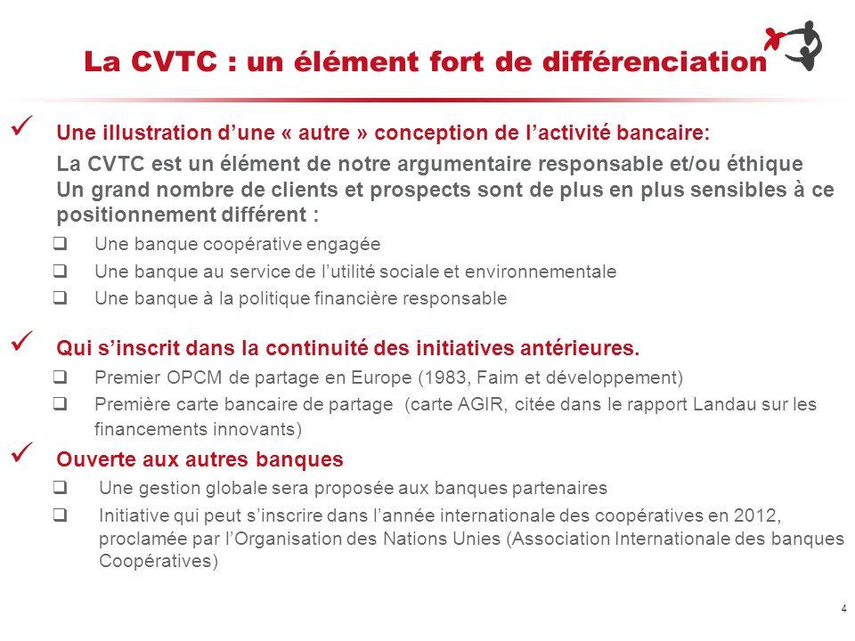 La CVTC : un élément fort de différenciation