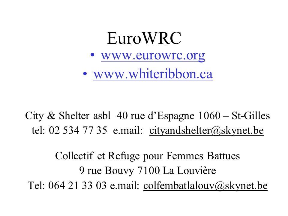 EuroWRC www.eurowrc.org www.whiteribbon.ca
