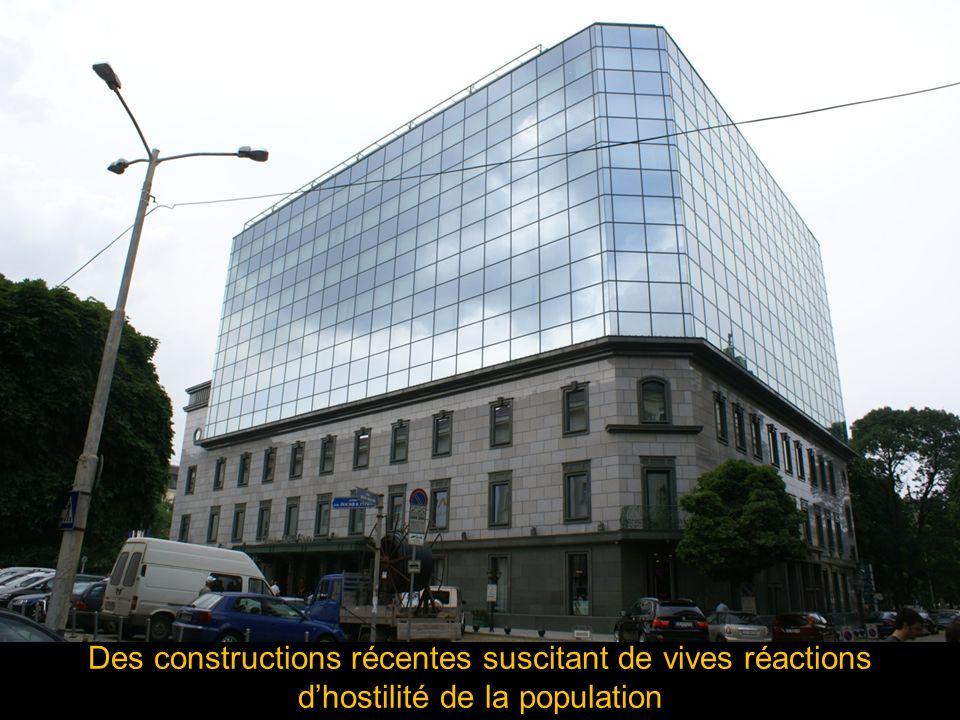 Des constructions récentes suscitant de vives réactions