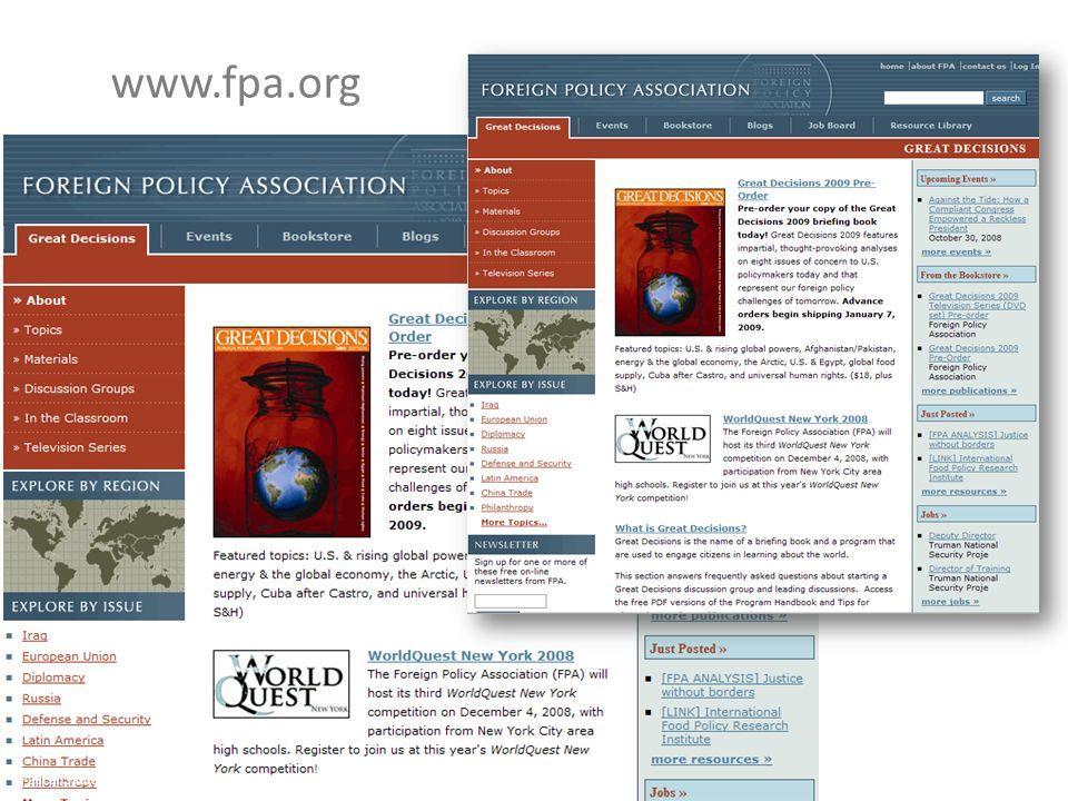 www.fpa.org Pascal Saura – Délégation générale Alliance Française États-Unis