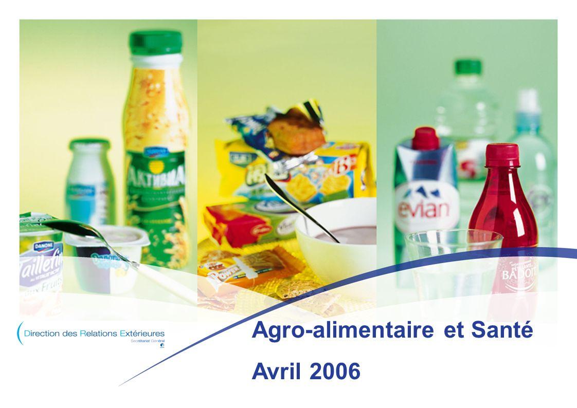 Agro-alimentaire et Santé