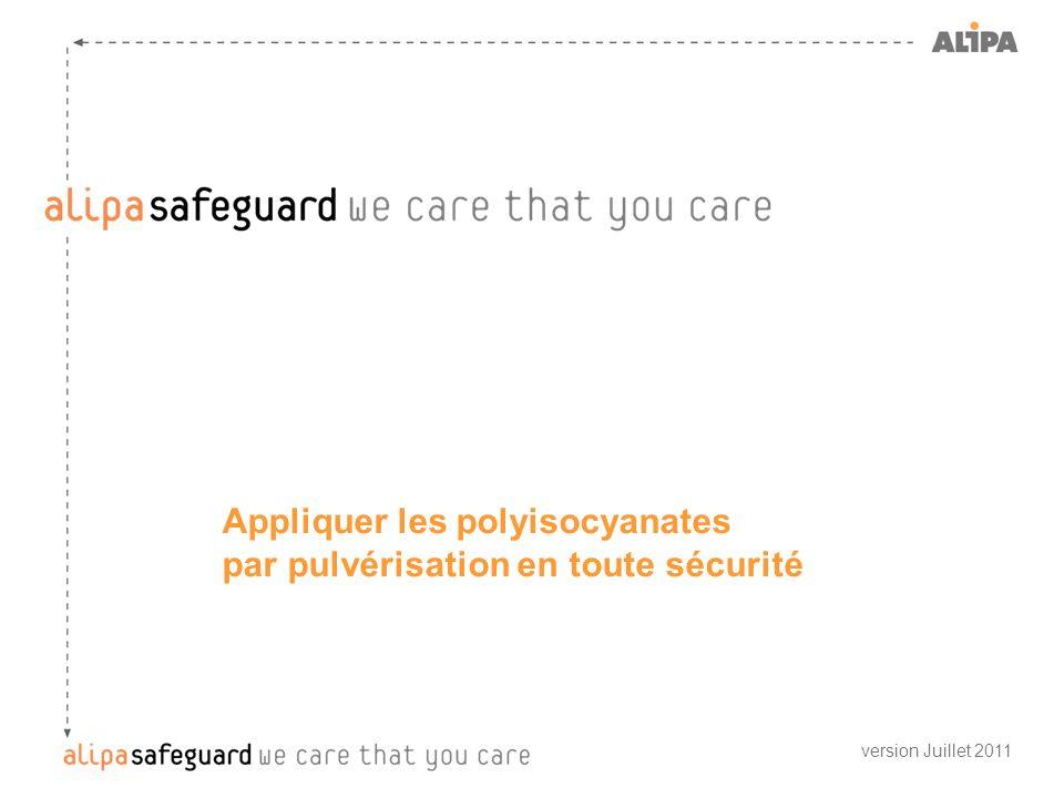 Appliquer les polyisocyanates par pulvérisation en toute sécurité