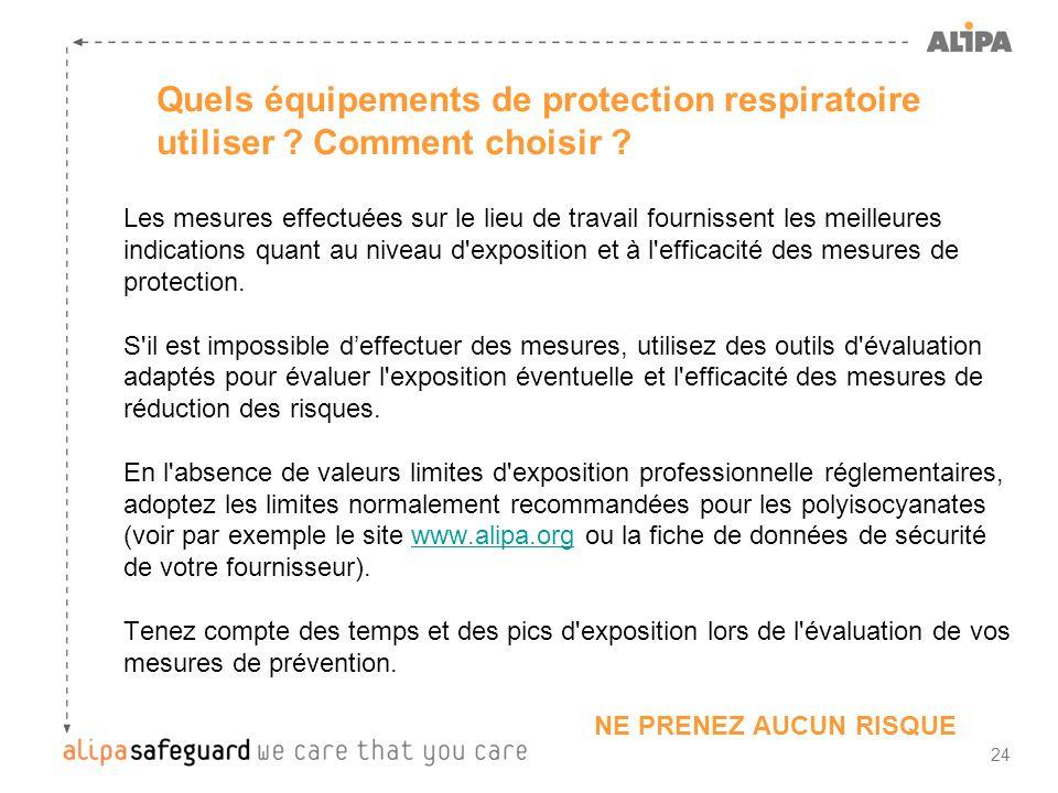 Quels équipements de protection respiratoire utiliser Comment choisir