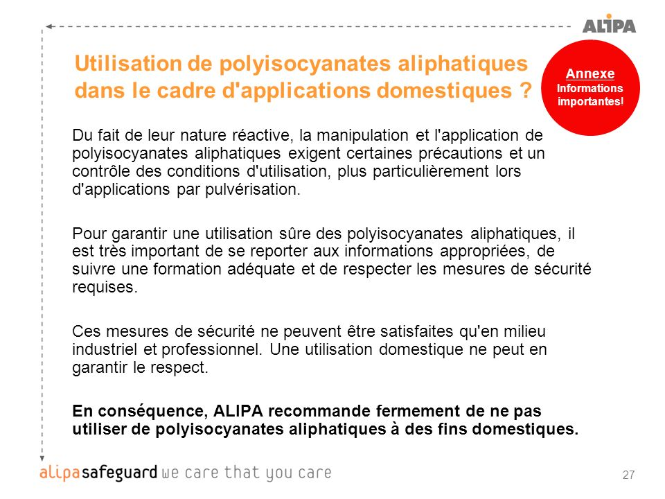 Informations importantes!