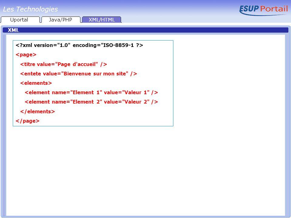 Les Technologies < xml version= 1.0 encoding= ISO-8859-1 >