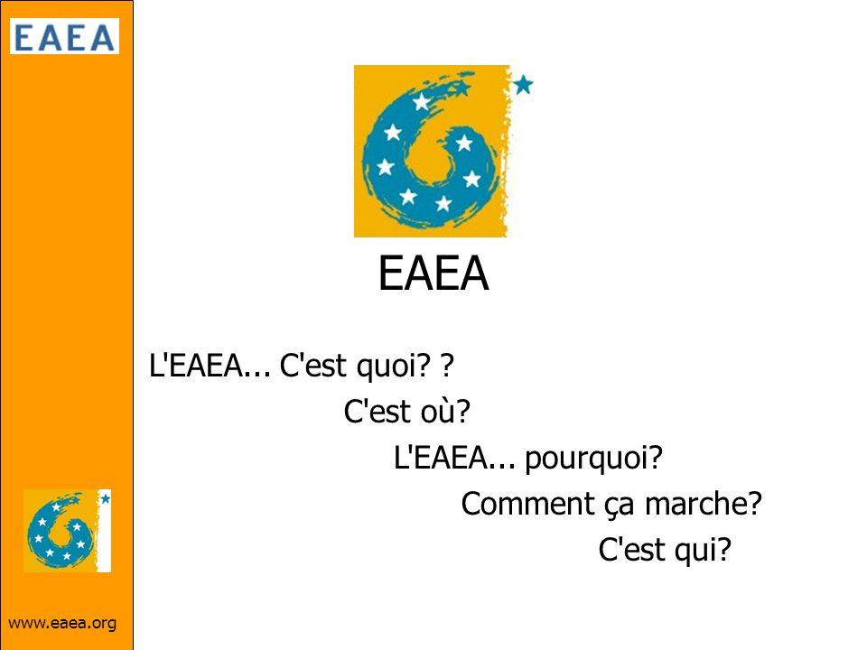 EAEA L EAEA... C est quoi C est où L EAEA... pourquoi