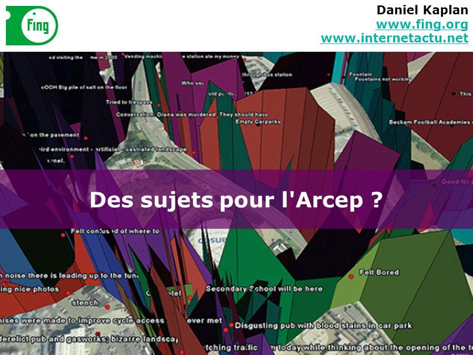 Daniel Kaplan www.fing.org www.internetactu.net