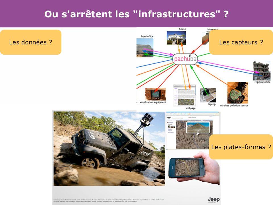 Ou s arrêtent les infrastructures