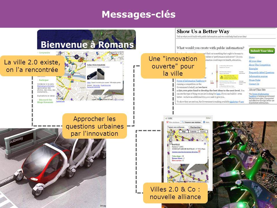 Messages-clés Une innovation ouverte pour la ville