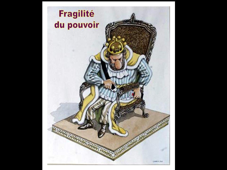 Fragilité du pouvoir