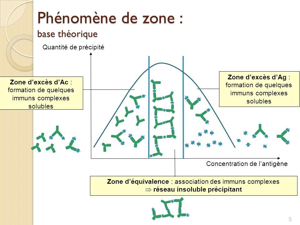 Phénomène de zone : base théorique