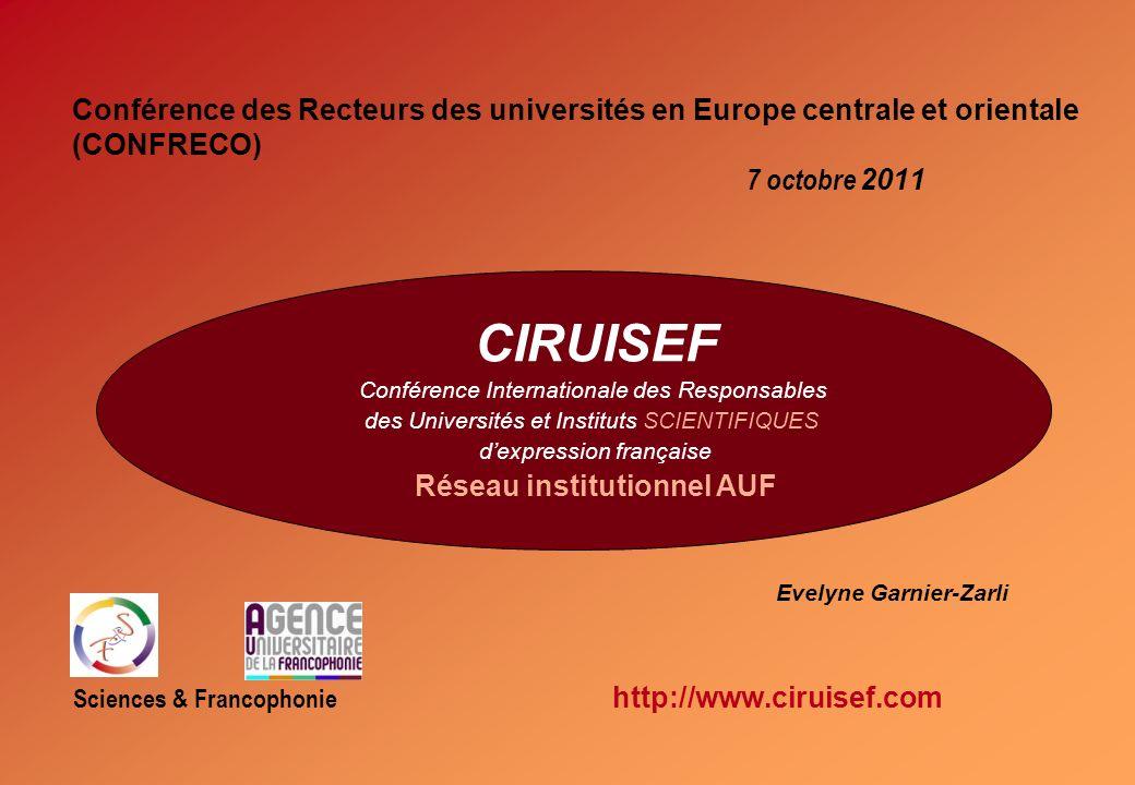 Réseau institutionnel AUF