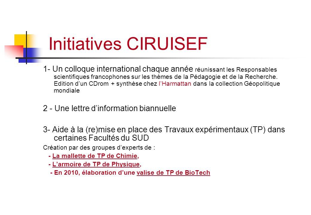Initiatives CIRUISEF