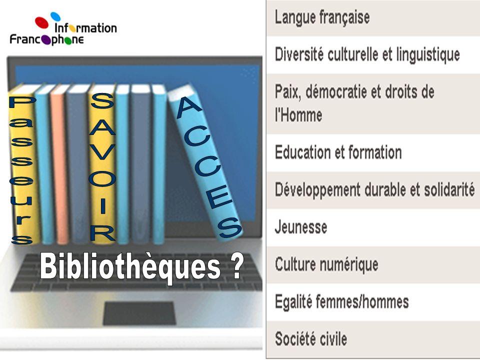 SAVOIR ACCES Passeurs Bibliothèques