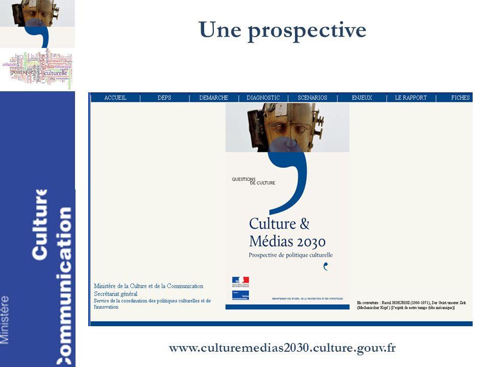 Une prospective www.culturemedias2030.culture.gouv.fr