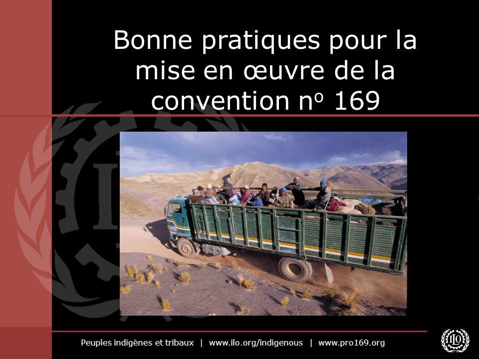 Bonne pratiques pour la mise en œuvre de la convention no 169