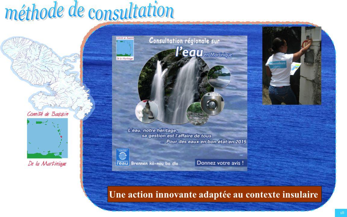 Une action innovante adaptée au contexte insulaire