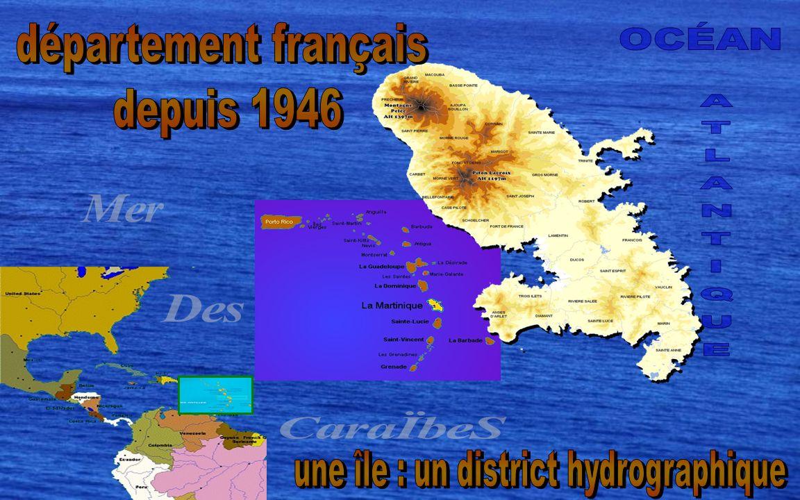 une île : un district hydrographique