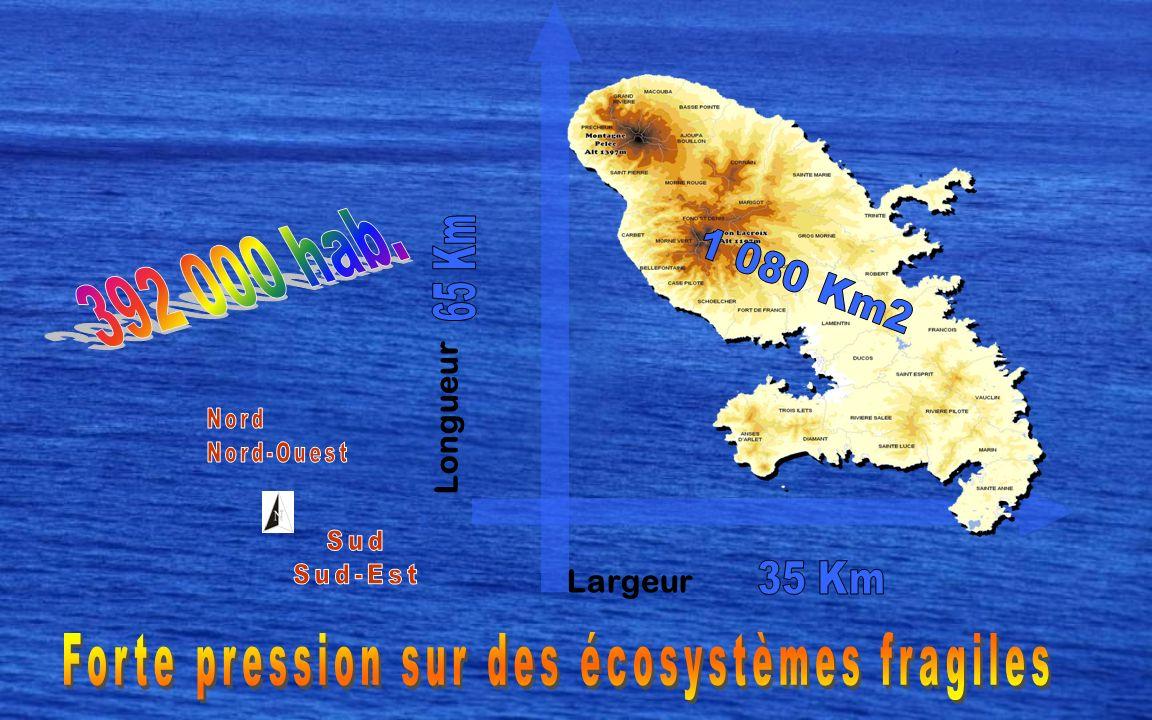 Forte pression sur des écosystèmes fragiles