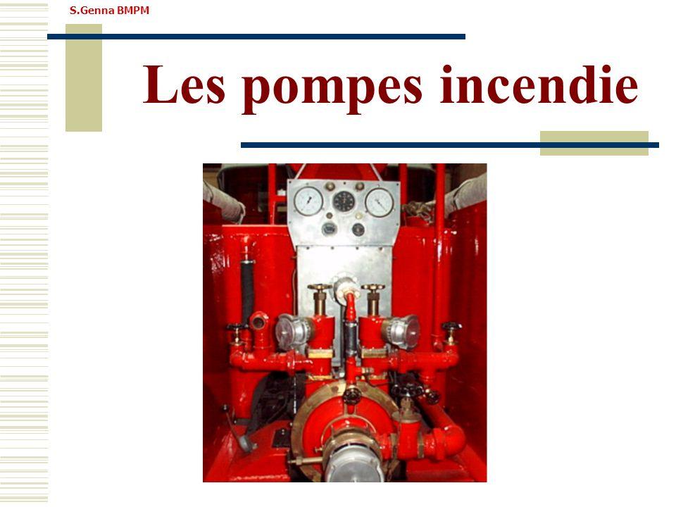 S.Genna BMPM Les pompes incendie
