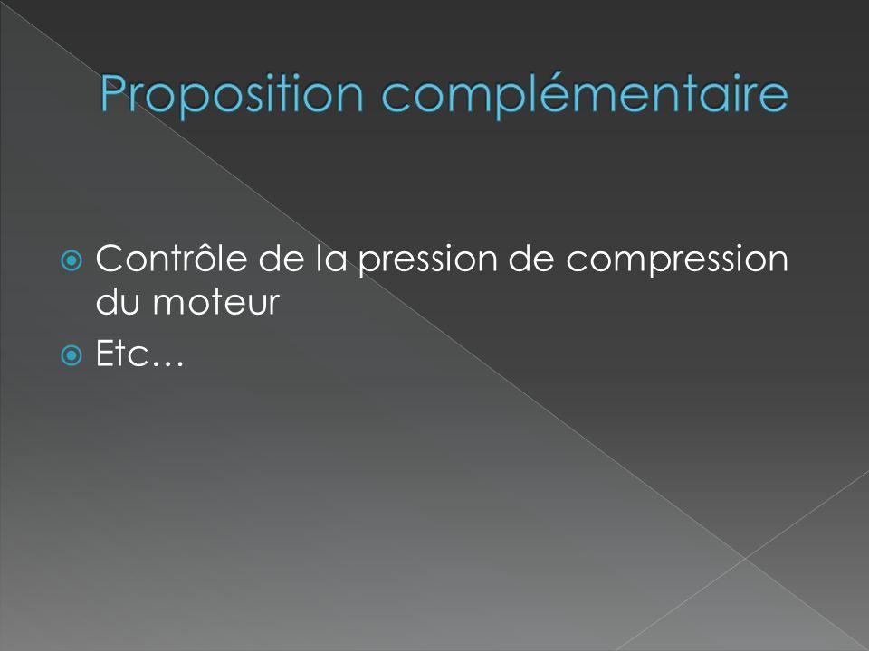 Proposition complémentaire