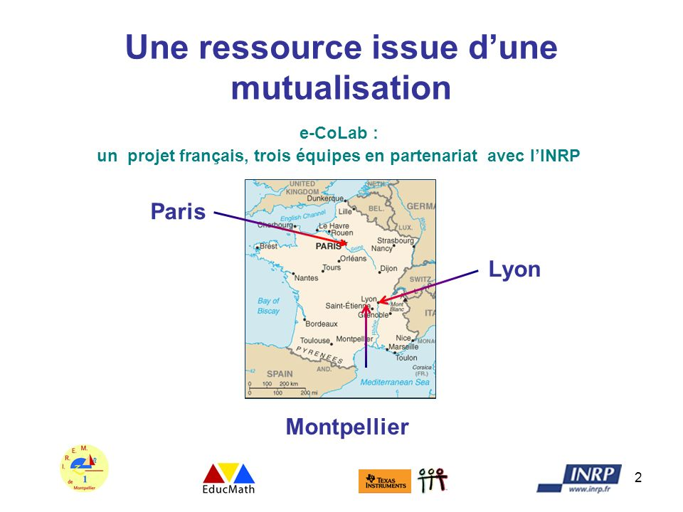 Une ressource issue d'une mutualisation