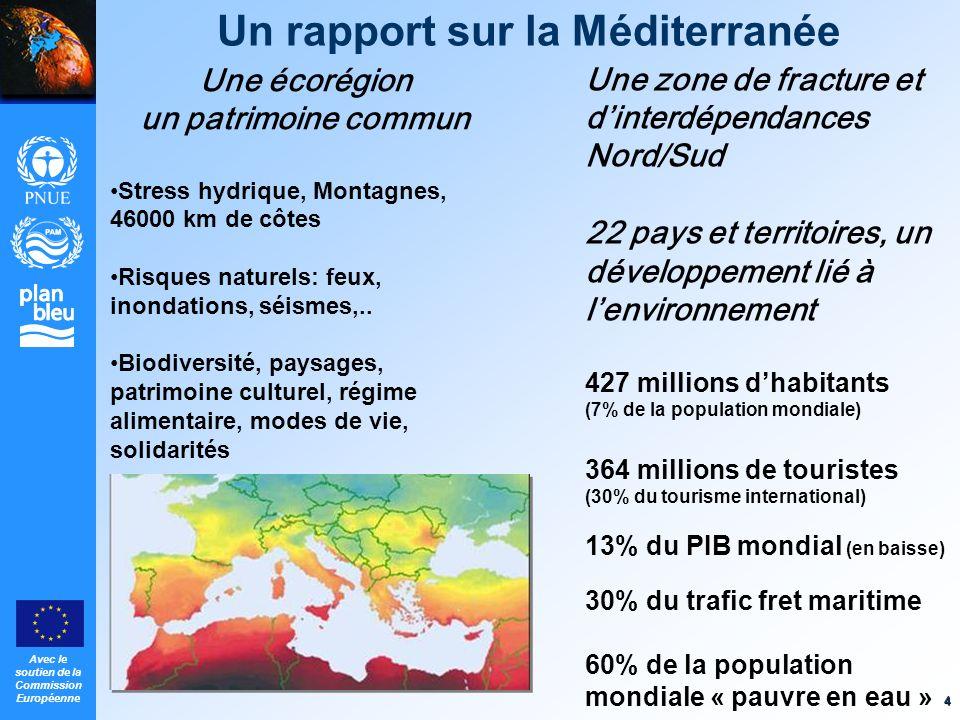 Un rapport sur la Méditerranée
