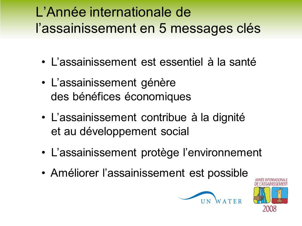 L'Année internationale de l'assainissement en 5 messages clés