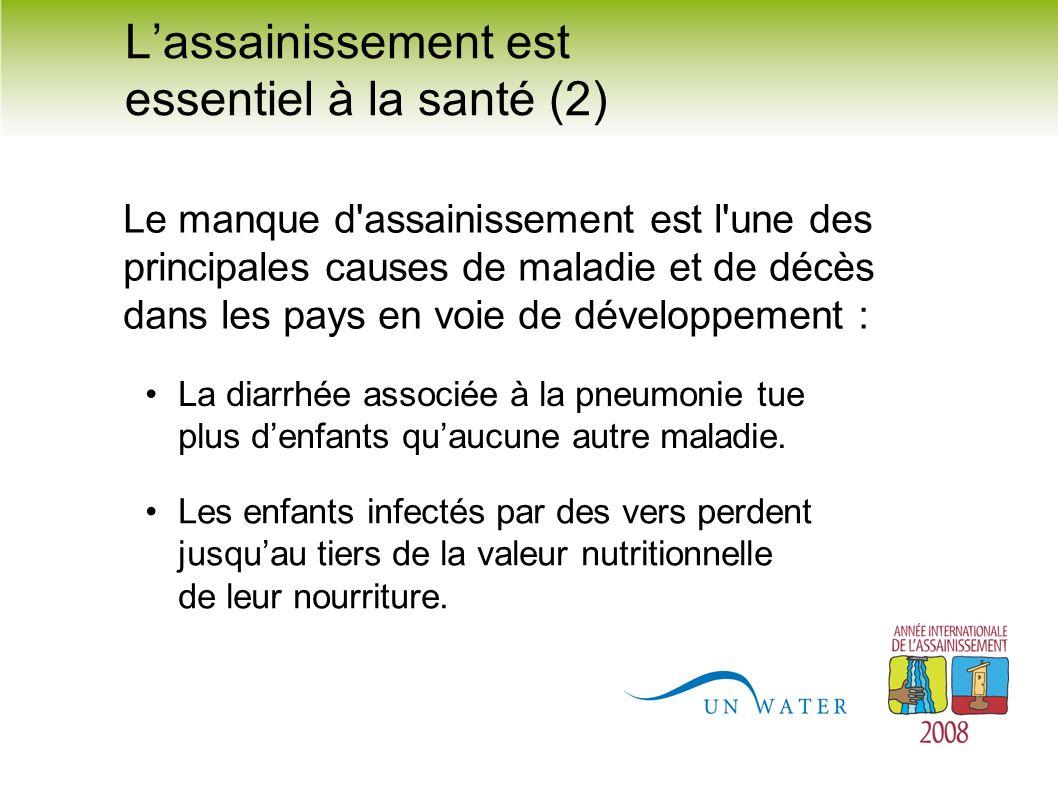 L'assainissement est essentiel à la santé (2)