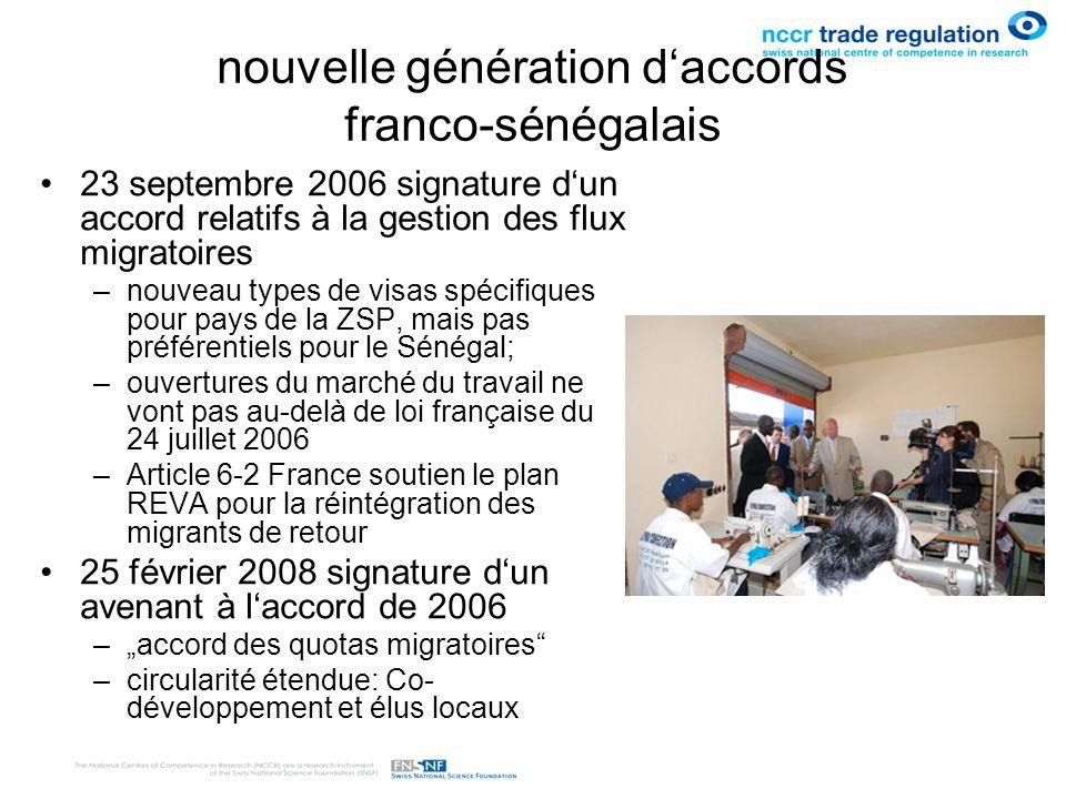 nouvelle génération d'accords franco-sénégalais