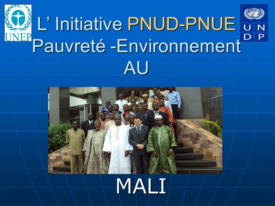 L' Initiative PNUD-PNUE Pauvreté -Environnement AU