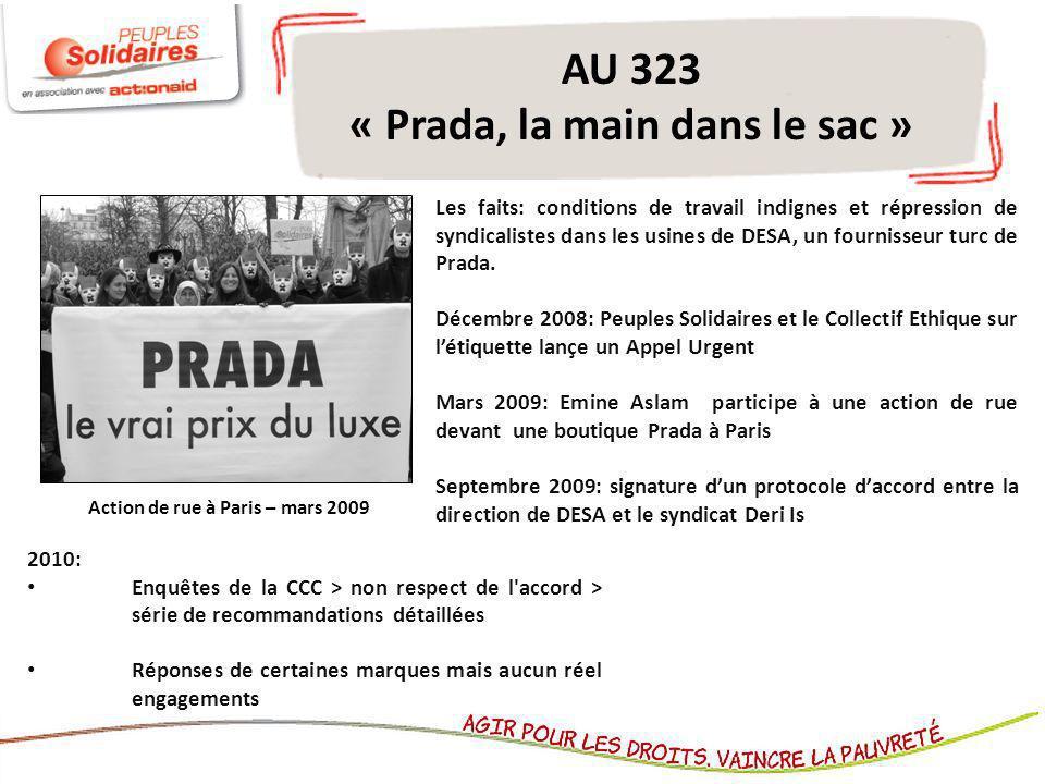 AU 323 « Prada, la main dans le sac »