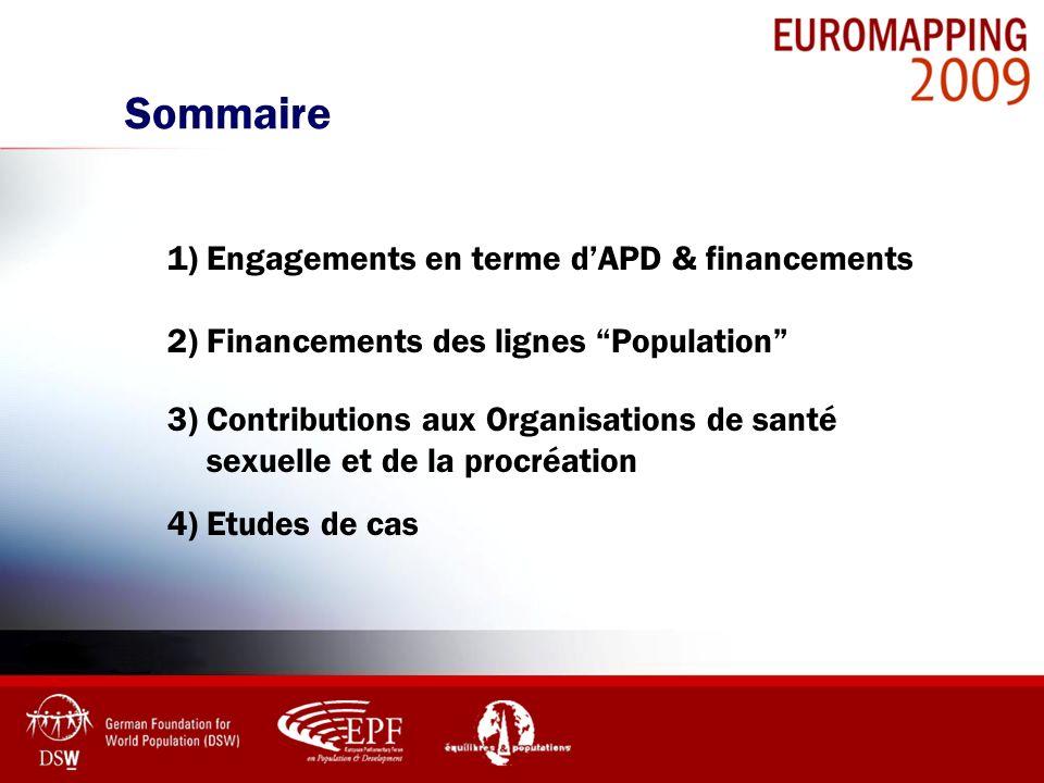 Sommaire 1) Engagements en terme d'APD & financements