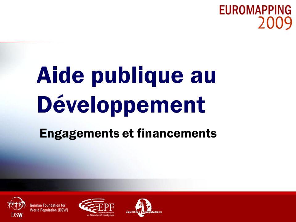 Engagements et financements