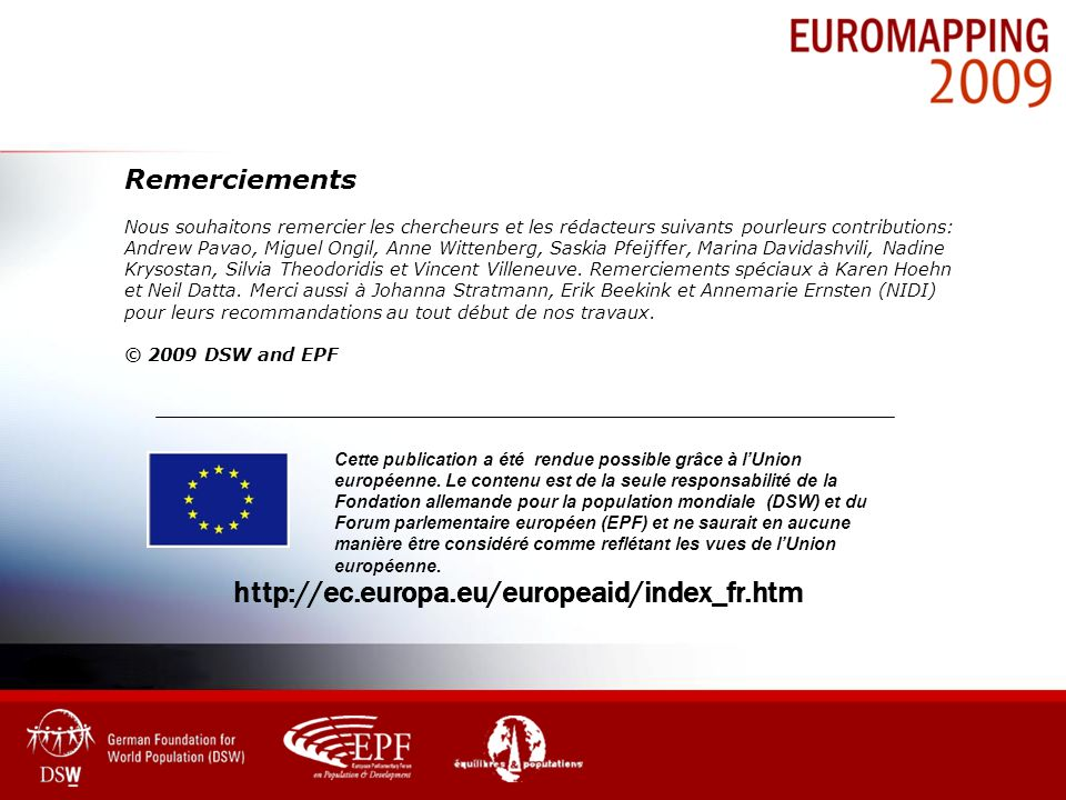 http://ec.europa.eu/europeaid/index_fr.htm Remerciements