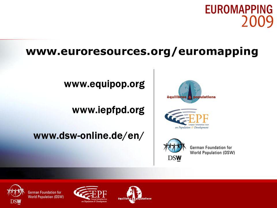 www.euroresources.org/euromapping www.equipop.org www.iepfpd.org www.dsw-online.de/en/