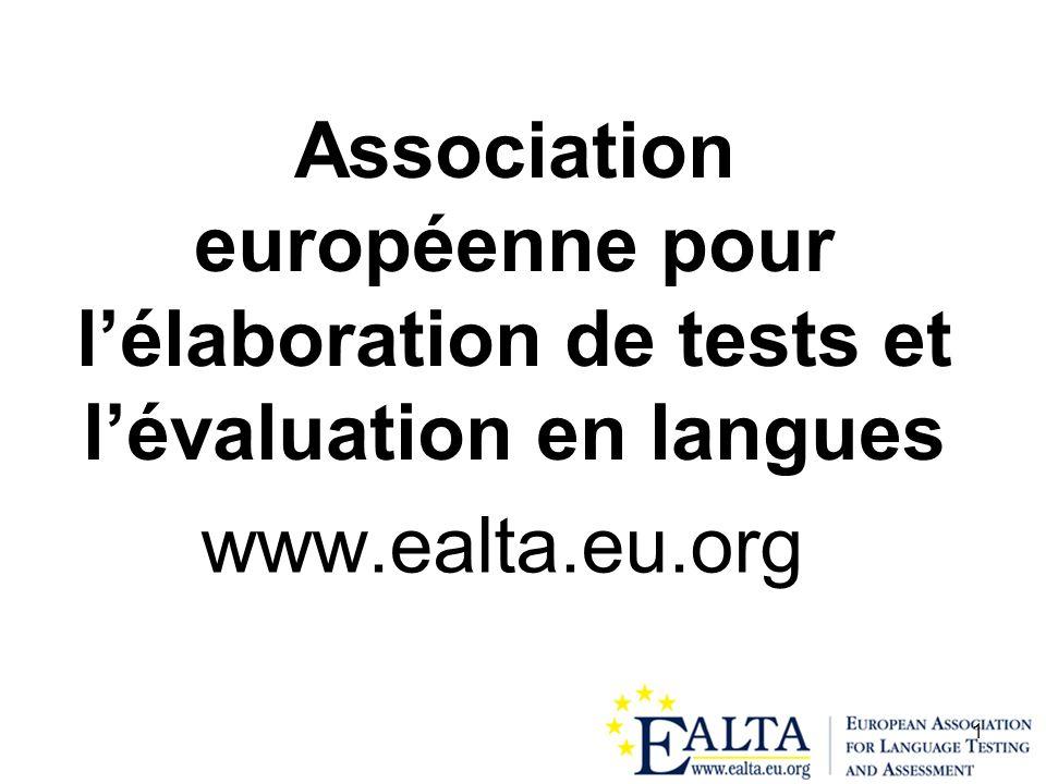 Association européenne pour l'élaboration de tests et l'évaluation en langues