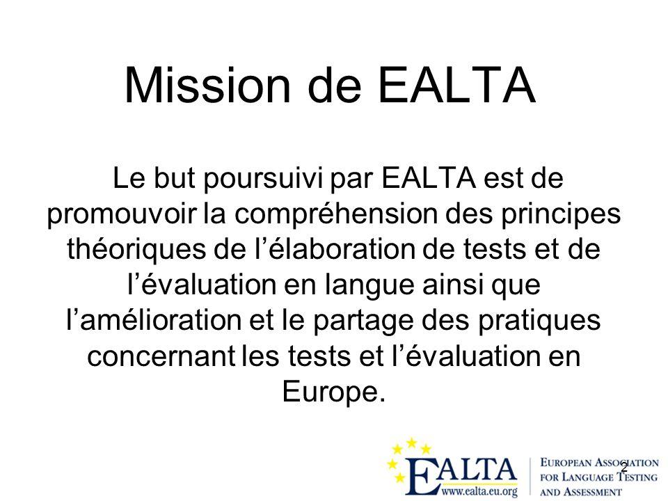 Mission de EALTA