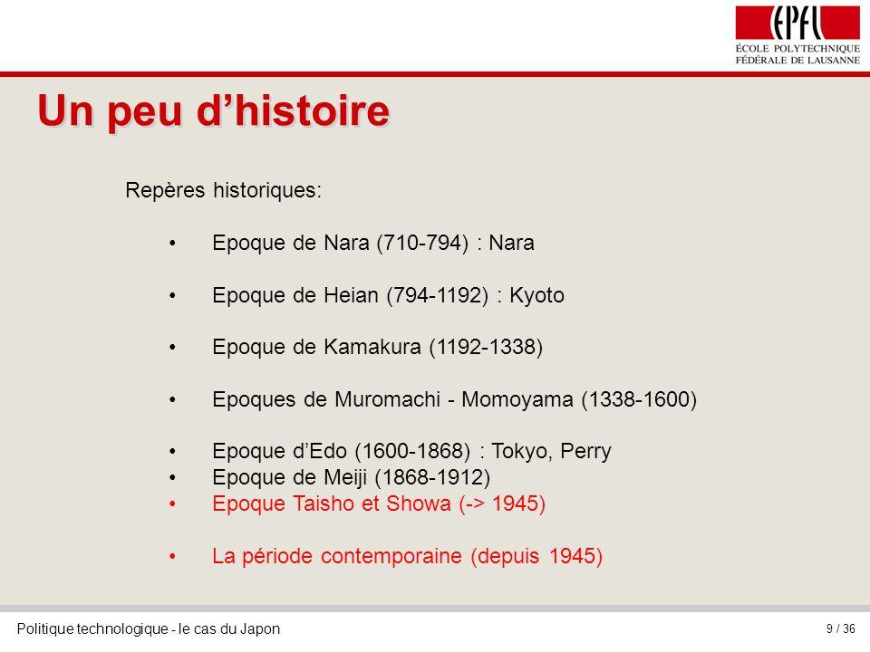 Un peu d'histoire Repères historiques: Epoque de Nara (710-794) : Nara