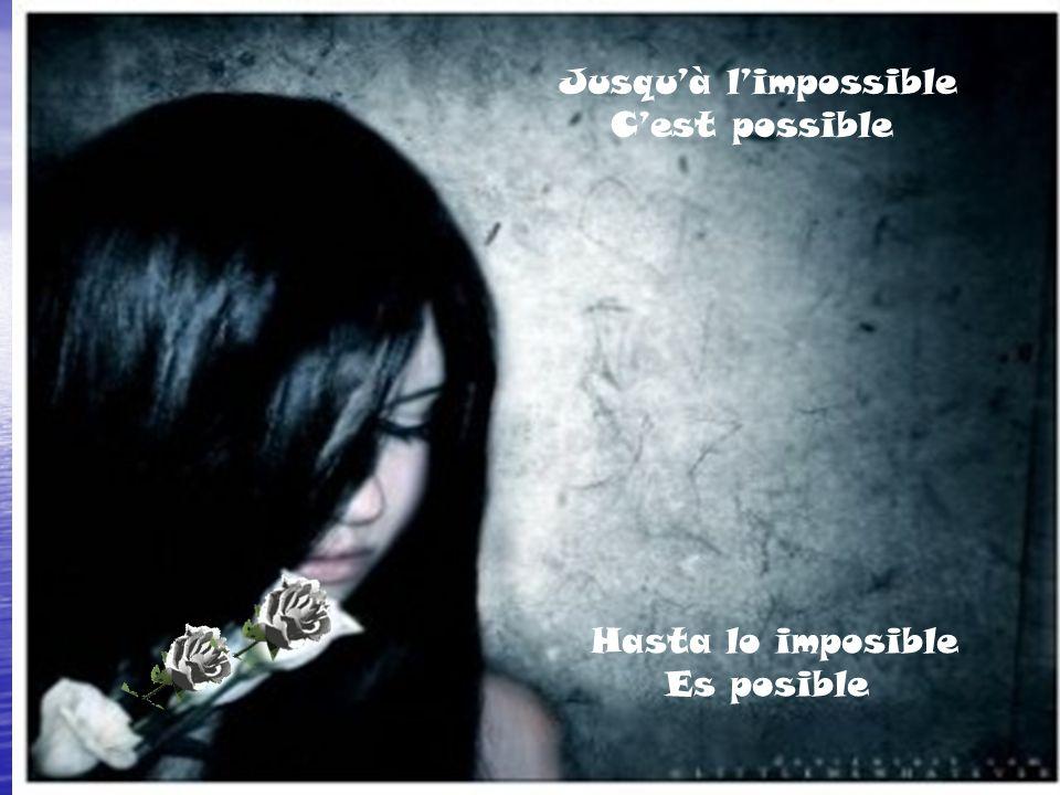 Jusqu'à l'impossible C'est possible Hasta lo imposible Es posible