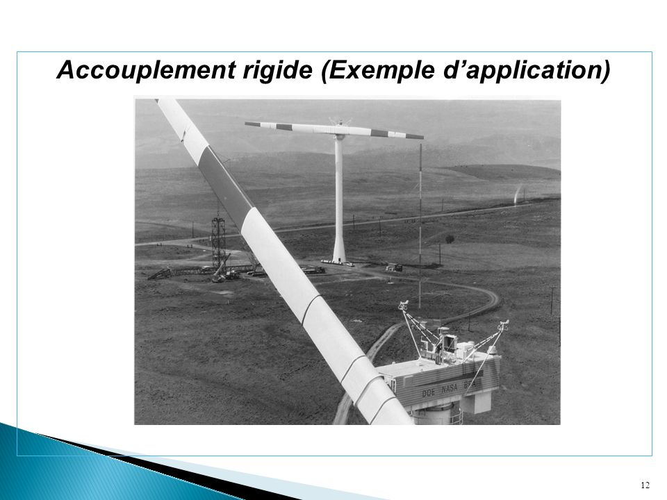 Accouplement rigide (Exemple d'application)