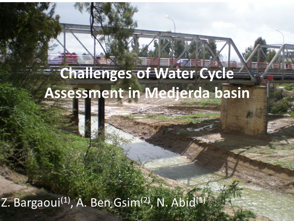 Challenges of Water Cycle Assessment in Medjerda basin