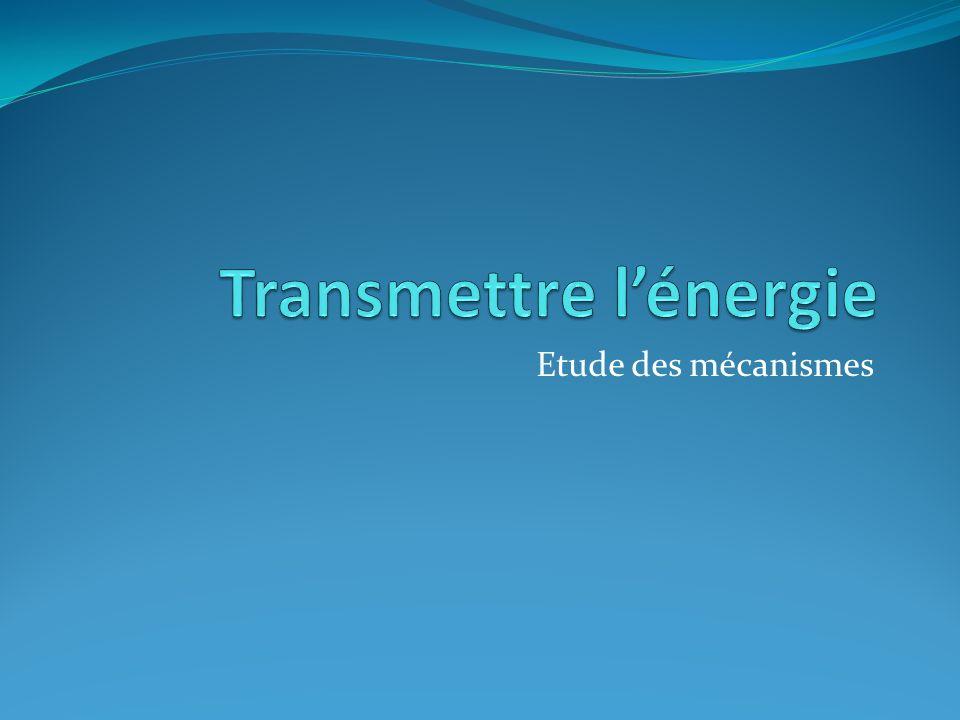 Transmettre l'énergie