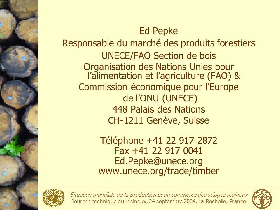 Responsable du marché des produits forestiers