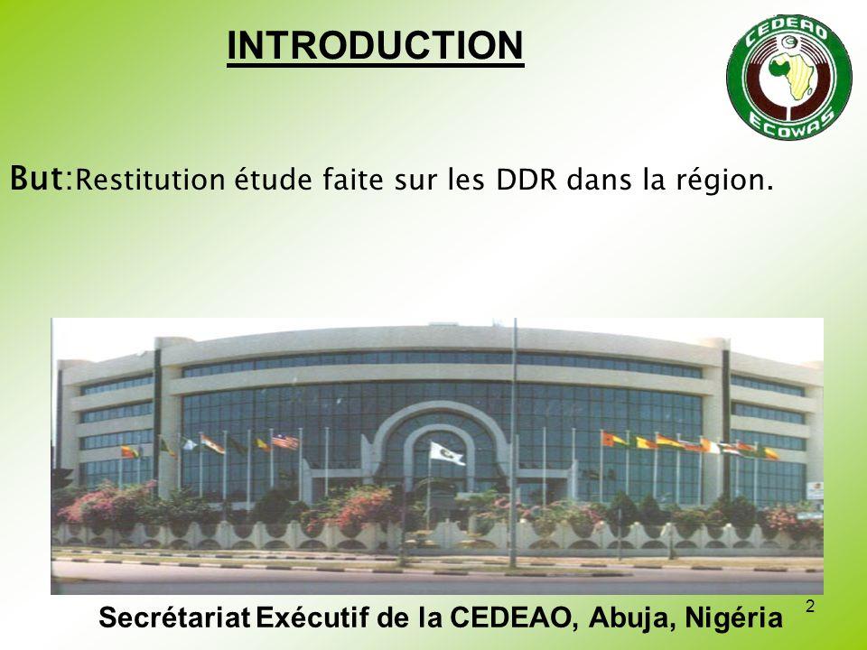 Secrétariat Exécutif de la CEDEAO, Abuja, Nigéria