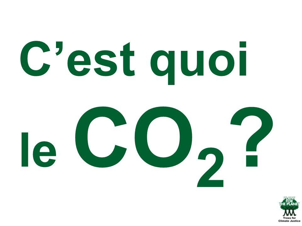 C'est quoi le CO2 Mais savez-vous ce qu'est le CO2 (question rhétorique ou question au public)